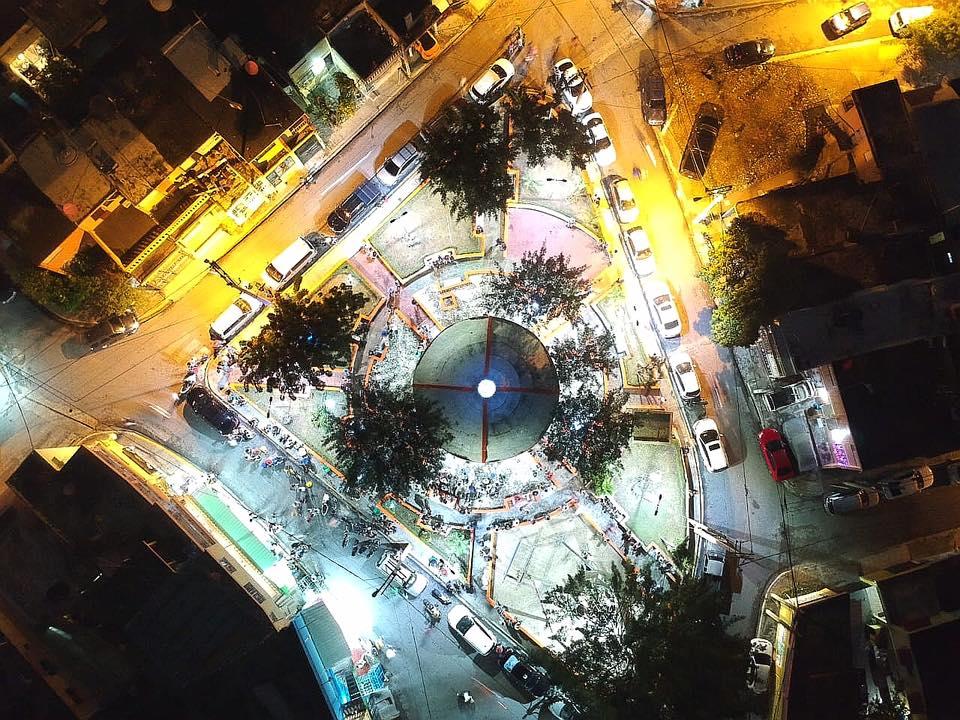 Encendido de Luces Parque Daniel Pinales del Sector Invi-