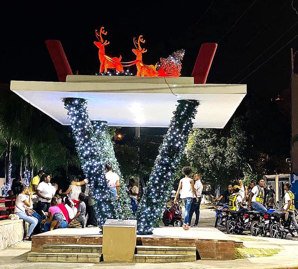 Encendido de Luces Parque Curva Cristo Viene